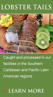 Caught and processed in our facilities in the Southern Caribbean and Pacific Latin American regions.
